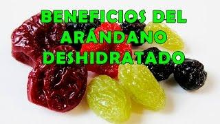 Arandano Deshidratado; Beneficios para la Salud - Propiedades de los Arandanos Secos