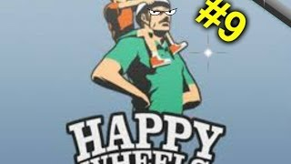 """Happy Wheels délire épisode 9 ! Mon premier jeu d' """"Horreur"""" :("""