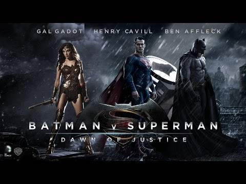 Batman vs Superman Dawn Of Justice -Official Soundtrack-Main Theme