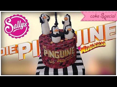 Die Pinguine aus Madagascar - Torte / Penguins of Madagascar Cake / Sallys Welt