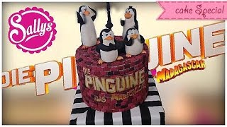 Die Pinguine aus Madagascar - Torte / Penguins of Madagascar Cake