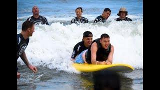 Surfing Face Plant! | Quadriplegic surfs and skis