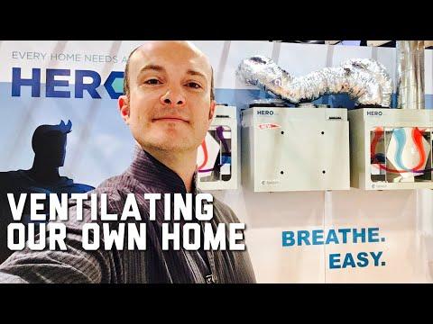 Our Home's Full Ventilation System: ERV/HRV, Kitchen Hood, Filtration