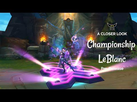 Championship LeBlanc Legacy Skin (Pre-Release)