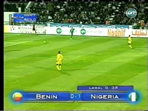 Nigeria vs Benin 2004 African Nations Cup