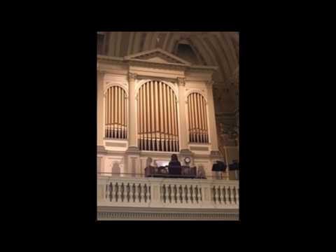 Undergrad Organ Recital