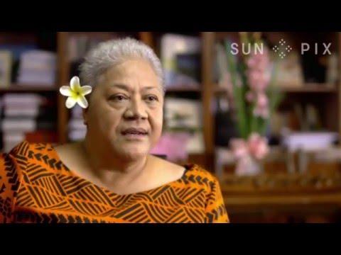 Hon. Fiame Mata'afa - Samoa Deputy Prime Minister