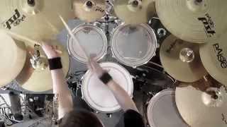 Hammerfall - The Dragon Lies Bleeding ( drum cover )