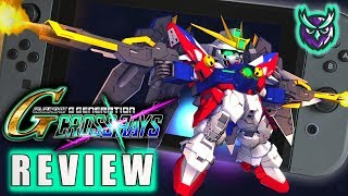 SD Gundam G Generation Cross Rays Switch Review (Video Game Video Review)