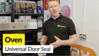 How to Fix a Universal Oven Door Seal (Round Cornered)