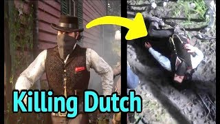 Dutch Rescues Arthur From Rhodes Jail in Red Dead Redemption 2 (RDR2)