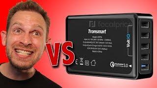 Tronsmart VoltIQ Multi USB Port Unboxing