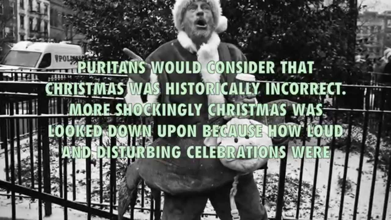 Did you know Christmas was banned? - YouTube