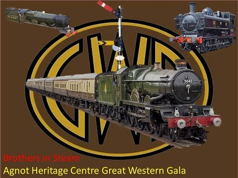 Agnot Heritage Centre Great Western Railway Gala 2016 | Brothers in Steam