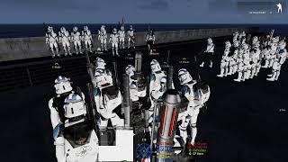 [Star Wars Arma 3] 501st 3rd Platoon FTX