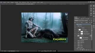 Vídeo Aula - Aprenda como fazer fotomontagem profissional Photoshop CS6