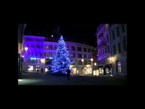 TOURISME EN SUISSE - Fête des lumières - lausanne 03.12.2014
