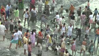 Radha Kund Cleaning