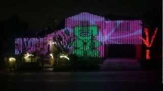 Gummy Bear Christmas Lights Show (30 Foot Tall Gummy Bear)