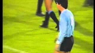 Germany v Uruguay 25th APR 1990