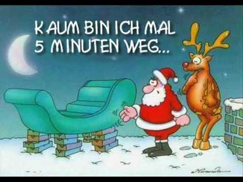 Lustiger weihnachtsgrub