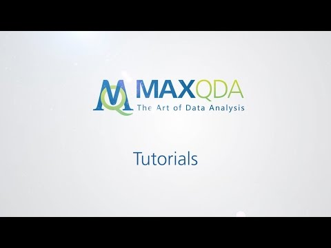 MAXQDA 12: MAXDictio meets Sherlock Holmes (Part 1)