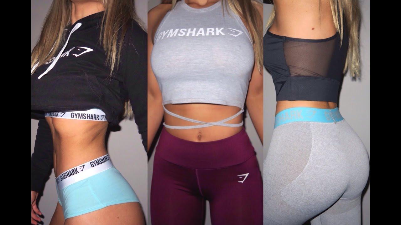 Gymshark Haul New Releases Try On Youtube