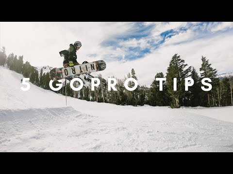 5 GoPro HERO Camera Tips for the Snow