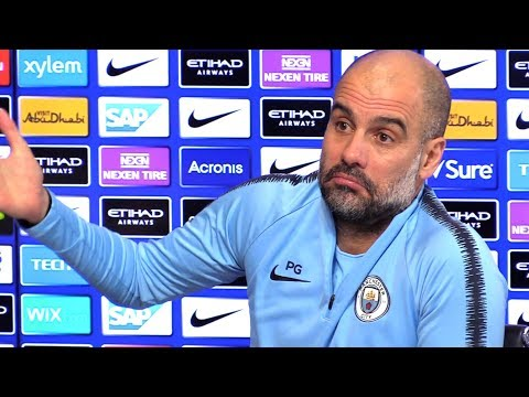 Pep Guardiola Embargoed Pre-Match Press Conference - Manchester City v Arsenal - Premier League