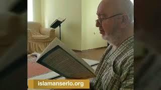 Ахьмад Хьамза: Ша дIавижа метта ваьлча «СубхьанаЛлахI, алхьамдулиЛлахI, АллохIу акбар» алар.