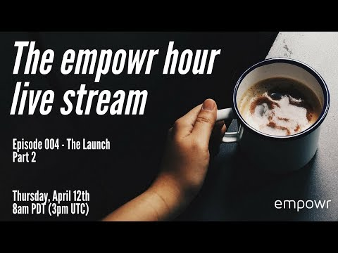THE EMPOWR HOUR - EP4 - Ask questions @ https://www.menti.com/36f849d1#