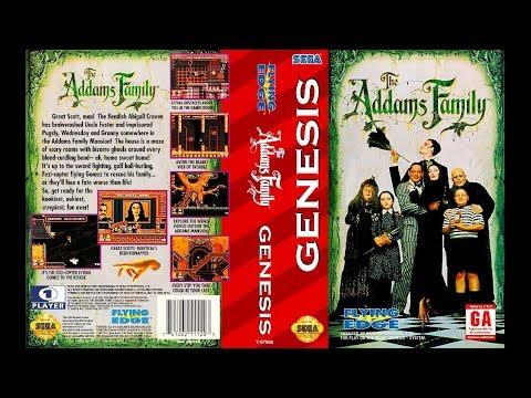 The Addams Family SEGA- русская версия, проходим вместе, ищем тайные фишки!