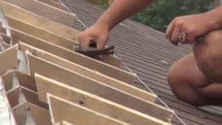 видео Как правильно сделать вентилируемый конек
