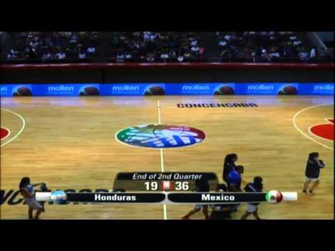 Centrobasket Femenino U15 - D3 - Honduras vs Mexico