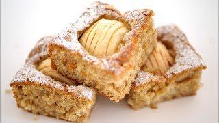 Немецкий яблочный пирог. Простой, ароматный, супер яблочный #быстро_к_чаю
