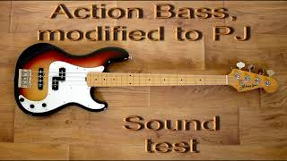 Baixar Action Bass modified to PJ, sound test