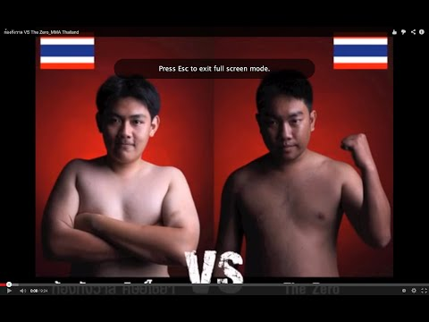 ก้องกังวาล VS The Zero_คู่น่ารัก MMA Thailand