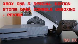 Storm Grey Xbox One S Special Edition Unboxing & Review