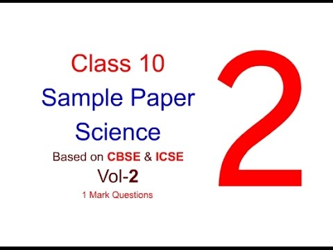 Sample Paper- 2| Class X Sample Question Paper| Question Bank