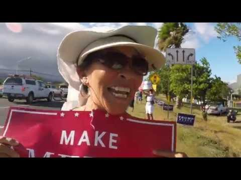 Hawaii Voters supporting Trump/Pence 2016