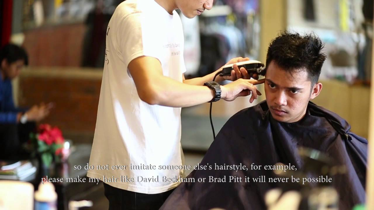Kadek The Cuts Indonesia Rockefeller Barber Bali YouTube - Hairstyle barbershop indonesia