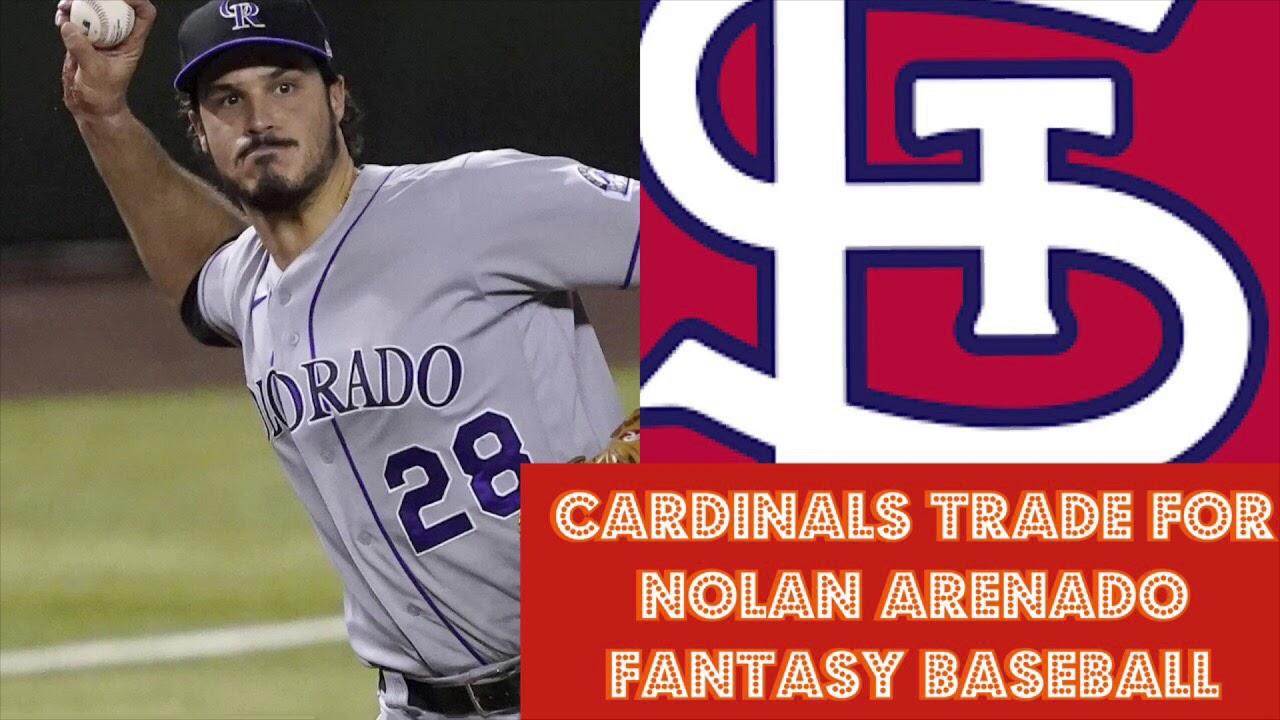 Breaking News St Louis Cardinals Trade For Nolan Arenado Fantasy Baseball /MLB News