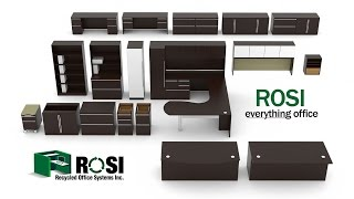 Rosi Knows Cubicles, Office Furniture, Seating, Cabling, Furniture Rentals And More!