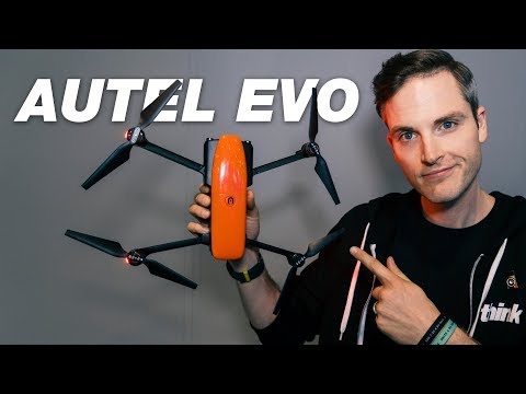 New Portable Drones 2018 — Autel Robotics EVO 4K 60fps Drone