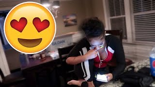 I DROVE 7 HOURS TO SURPRISE HER! ❤️ thumbnail
