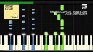 JEFFERSON AIRPLAINE - WHITE RABBIT - SYNTHESIA (PIANO COVER)