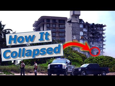 Here's Cause Of Miami Condo Collapse Champlain Condo Towers, Surfside