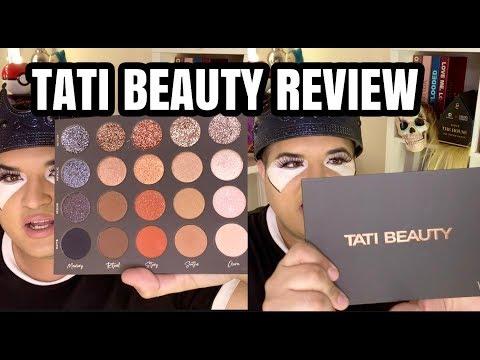 TATI BEAUTY PALETTE REVIEW & DRAMA