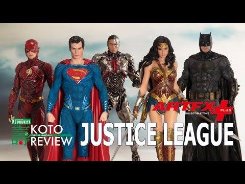 KOTOBUKIYA presents KOTO  ARTFX Justice League