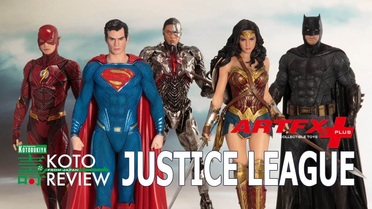 Statue Kotobukiya Justice League Movie Superman ArtFX